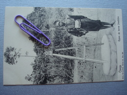 CONGO BELGE : Types De Borne Frontière Avant 1906 - Congo Belge - Autres