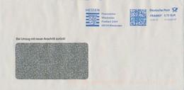 BRD Wiesbaden Frankit 2019 Finanzämter Wiesbaden Wappen Hessen Löwe - Briefe U. Dokumente