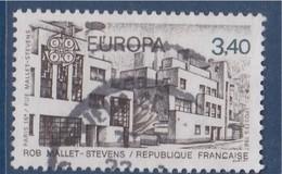 = Europa, Architecture Moderne, Rue Mallet-Stevens Paris 16è, 3f40 N°2472 Oblitéré - France