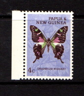 PAPUA  NEW  GUINEA    1966    Butterflies    4c  Graphium  Weiskei    MNH - Papua New Guinea
