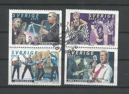 Sweden 1999 Music Pairs Y.T. 2125/2128  (0) - Oblitérés