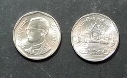 Thailand Coin Circulation 5 Baht Year 1998 UNC - Thailand