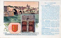 VAUCLUSE - Avignon - Edition Spéciale Des Pastilles VALDA   (115991) - France