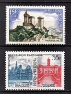 FRANCE 1958 -  Y.T. N° 1175 / 1176 - NEUFS** /3 - Neufs