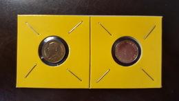 Thailand Coin Circulation 25 Satang 1/4 Baht Year 1995 UNC 2 Pcs (2) - Thaïlande