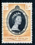 Northern Rhodesia 1953 QEII Coronation Used (SG 60) - Northern Rhodesia (...-1963)