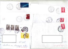 Lot 17 Lettre Cachet à Voir - Marcophilie (Lettres)