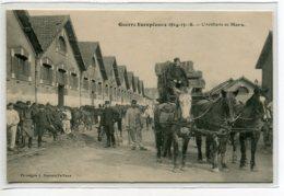 72 LE MANS Carte RARE La Guerre Européene  1914-15-16  L'Artillerie Diligence Ravitaillement Livraison Paille D10 2019 - Le Mans