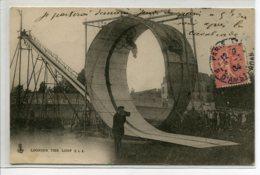 75 PARIS Looping The Loop Photographe Et  Cycliste Dans Le Cercle De La Mort  Attraction Foraine 1904  D10 2019 - France