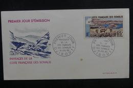 CÔTE DES SOMALIS - Enveloppe FDC En 1965 - Paysages - L 40323 - Lettres & Documents