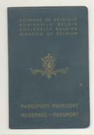 Passeport - Reisepass - Paspoort - Passport - Belgque - Pour Un Voyage En Espagne En 1969 (b259) - Documents Historiques