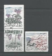 Sweden 1989 Protected Fauna & Flora Y.T. 1548/1550 (0) - Gebraucht