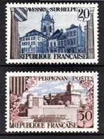 FRANCE 1959 - Y.T. N° 1221 ET 1222  - NEUFS** /1 - Neufs