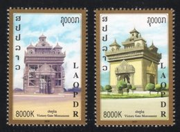 Laos 2019 - Victory Gate Monument / The Arch Of Triumph / Patuxai / Patuxay - Laos