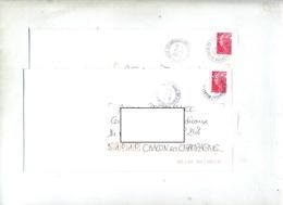 Lettre  Cachet Pontault Annexe GA - Postmark Collection (Covers)