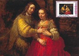 D37942 CARTE MAXIMUM CARD 2008 NETHERLANDS - JEWISH BRIDE BY REMBRANDT RIJKSMUSEUM AMSTERDAM CP ORIGINAL - Jewish