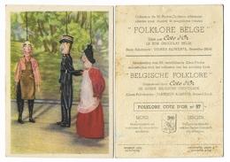 MONS Marionnette En Costume Du Répertoire Moderne, Folklore_ Chromo N°97 Côte D'Or Chocolat, Bruxelles Belgique - Côte D'Or
