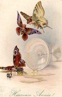 Bonne Année  L Les Papillons - Año Nuevo