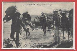 AFRIQUE -- Maroc - Casablanca - Débarquement Des Passagers - Casablanca