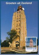 D37946 CARTE MAXIMUM CARD 2014 NETHERLANDS - WESTKAPELLE PHARE VUURTOREN LIGHTHOUSE CP ORIGINAL - Westkapelle