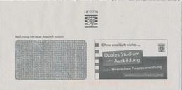BRD Wiesbaden Hessische Finanzverwaltung Wappen Hessen Löwe Duales Studium Oder Ausbildung - Briefe U. Dokumente