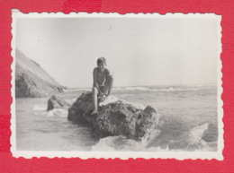 247731 / Sinemorets 1967 -  BOY NUDE Naked  , Swimming , Vintage Original Photo , Bulgaria Bulgarie - Persone Anonimi