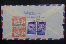 BIRMANIE - Affranchissement Plaisant De Rangoon Sur Enveloppe Pour La France - L 40341 - Myanmar (Birmanie 1948-...)