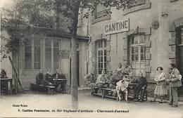 - Dpts Div -ref-AL738- Puy De Dome - Clermont Ferrand - Cantine Pontonnier - 353e Régiment Artillerie - Militaria - - Clermont Ferrand