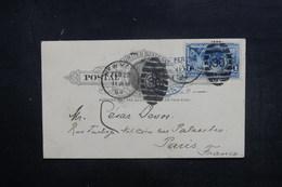 ETATS UNIS - Entier Postal + Complément De New York Pour La France En 1894 - L 40348 - ...-1900