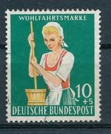 BRD Mi. 298 Gest. Landwirtschaft Sennerin Mit Butterfass - Landwirtschaft