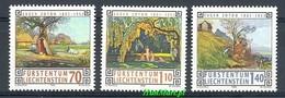 Liechtenstein 1996 Mi 1138-1140 MNH ( ZE1 LCH1138-1140 ) - Arts