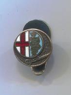 ALFA ROMEO  - Car, Auto, Automotive, Vintage Pin, Badge, Abzeichen, Button Hole Enamel - Alfa Romeo