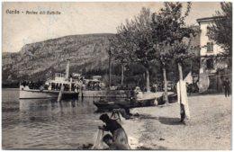 GARDA - Arrivo Del Battello - Italy