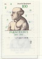 PIA -GER-  1993  : 500° Della Nascita Del Medico.filosofo E Naturalista Paracelso -  (Yv 1536) - Medicina