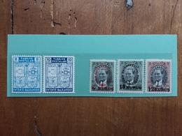 TURCHIA 1940 - Nn. 934/35 + 936/38 Nuovi ** + Spese Postali - 1921-... Repubblica