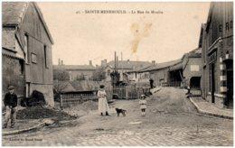 51 SAINTE-MENEHOULD - La Rue Du Moulin - Sainte-Menehould