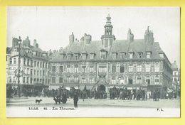 * Lille - Rijsel (Dép 59 - Nord - France) * (F.L., Nr 46) La Bourse, Stock Exchange, Beurs, Animée, Cheval, Boulangerie - Lille