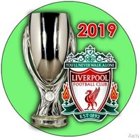 PIN LIVERPOOL SUPER CUP UEFA 2019 WINNER - Calcio