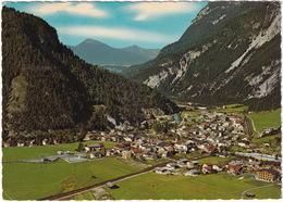 Scharnitz 964 M, Tirol - Blick Gegen Mittenwald, Bayern - Scharnitz