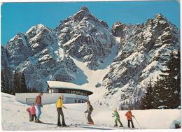 Serleslifte Mieders - (Stubaital - Tirol) - Panoramarestaurant, 1640 M Seehöhe - Blick Gegen Serles 2719 M - Innsbruck