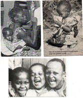 Dank Voor Steun Oa  Missie Vluchtelingen Steunfonds Kinderen Enfants Children Kindern 3 Stuks/piece - Christianisme