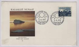 Soleil  Groenland FDC 1978 - Astrologie