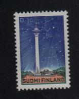 Soleil  Voie Lactée Timbre ** Finlande - Astrologie