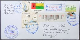 Guine-Bissau - Registered Cover To Portugal 2016 Birds Duck - Anatre