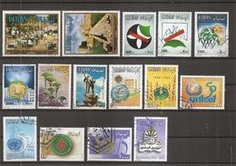 Liban ( Lot De Timbres Divers Différents Oblitérés) - Liban