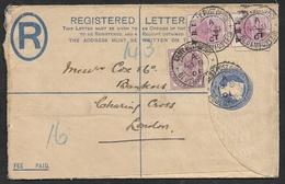 1901 - BOER WAR - Registered Stationery A.P.O MIXED FRANKING GB Victoria - ORANGE FREE STATE BLOEMFONTEIN. - Orange Free State (1868-1909)