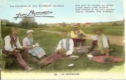 Folklore. CPSM. Musique. Les Chansons De Jean Rameau Illustrées. La Froumagèe (animée, Costumes, Personnages, Cher) - Musique