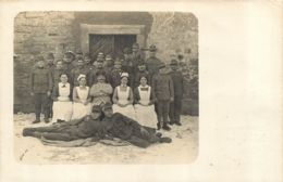 BERNBURG CARTE PHOTO ALLEMANDE 1915 - Bernburg (Saale)