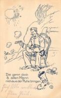 DIE GENN DOCH A ALTEN MANN NICHAUS DER RUHE BRINGEN  1916 - Umoristiche