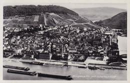 Bingen Am Rhein * Scharlachkopf, Schiffe, Brücke, Gesamtansicht * AK078 - Bingen